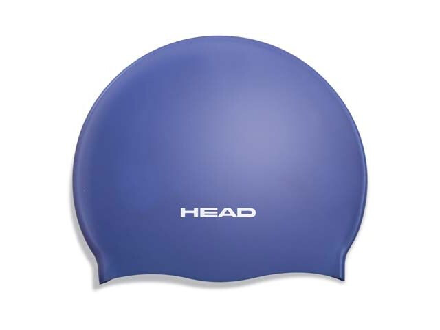 HEAD Swim Cap Silicone Moulded Blue (RY)